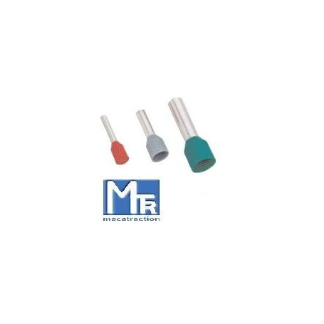 EMBOUTS DE CABLAGE 10 mm2 PRE-ISOLE