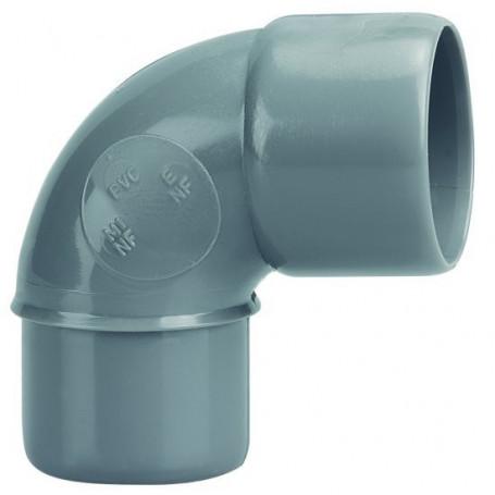 COUDE PVC MALE-FEMELLE 87°30 Ø 32