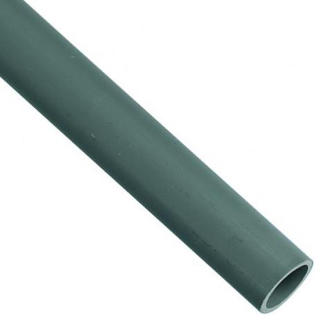 TUBE PVC 40 GRIS LONGUEUR 2 M