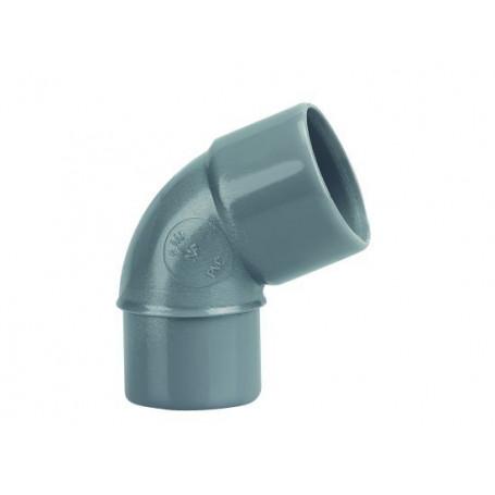 COUDE PVC MALE-FEMELLE 67°30 Ø 40