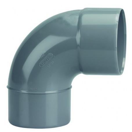 COUDE PVC MALE-FEMELLE 87°30 Ø 40