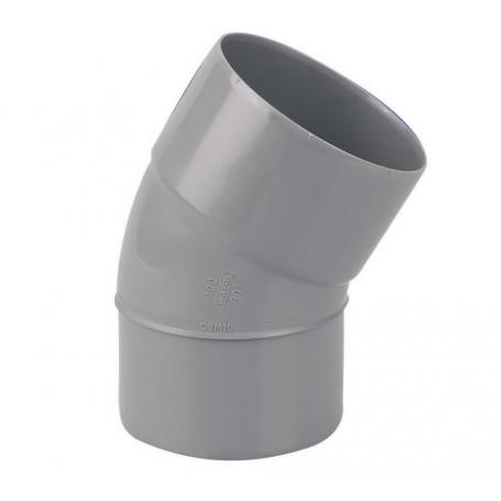 COUDE PVC MALE-FEMELLE 30° Ø100