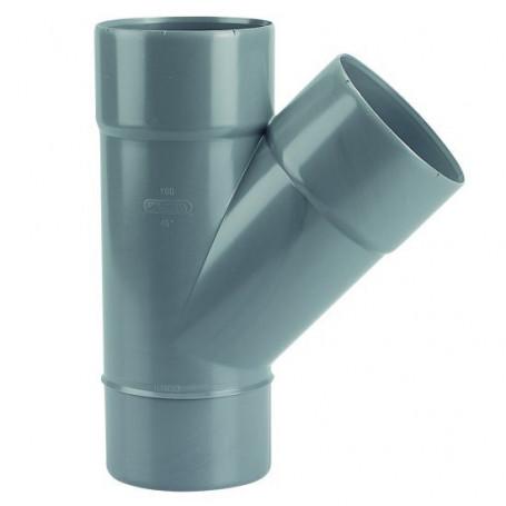 CULOTTE PVC MALE-FEMELLE 45° Ø 100