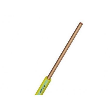 HO7VU 1.5 mm2 VERT/JAUNE