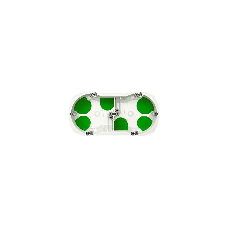 BOITE DIAM. 67 PROFONDEUR 71 MM - 2 POSTES