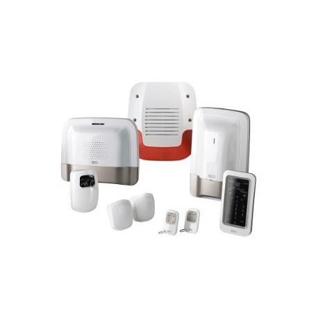 Pack alarme sans fil avec transmetteur téléphonique GSM et détecteur vidéo