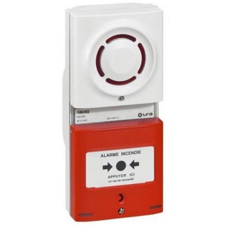 Alarme incendie de Type 4 à pile