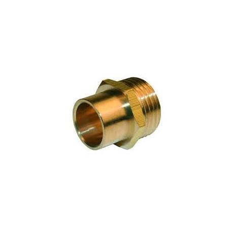 """Manchon cuivre à souder - Diamètre 32 mm - M1"""""""