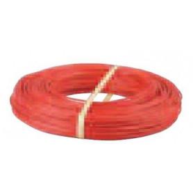 Fil électrique HO7VK 6 mm² rouge
