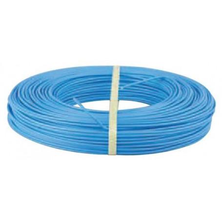 Fil électrique souple HO7VK 10 mm² Bleu