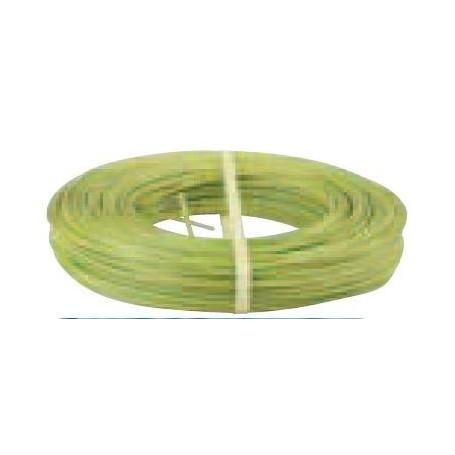 Fils électrique souple HO7VK 10 mm2 Vert/Jaune